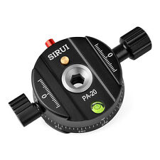 Sirui PA-20 Panorama Plate Pro Panoramic Photography Platform For Tripod Head