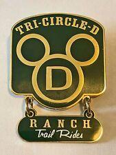 Walt Disney World - Cast Member - Tr-Circle D Recognition Pin