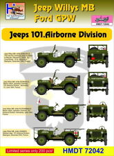 H-Model Decals 1/72 Willys Jeep MB/Ford GPW: 101st Airborne Division # 72042