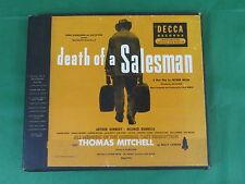 ARTHUR MILLER Death Of A Salesman THOMAS MITCHELL  Decca DAU-774 8 78s 1950  VG