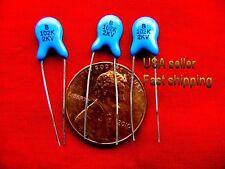 14 pcs - .001uf  (0.001uf, 1000pf) 2kv (2000v) ceramic capacitors FREE SHIPPING