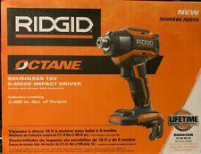 RIDGID Octane 18V 1/4in Brushless 6-Mode Impact Driver R86039B