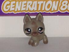 Littlest PetShop Berger Allemand Gris Fonce N°491 DOG