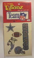 DALLAS COWBOYS ALL SPORTS TATTOOZ Temporary Tattoos -JUST TOYS (1992)