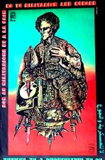 NO TO MILITARISM AND HUNGER  1969 - FROM HAVANA -  CUBA OSPAAAL ORIGINAL RARE