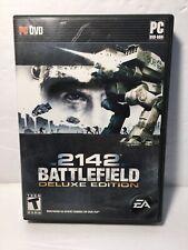 Battlefield 2142 (PC, 2006) Deluxe Edition DVD Complete w Manual, Case, & Key