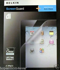 NEW - Belkin Anti Glare Screen Protector Guard for iPad 2 (2 Pk.) #F8N617tt2-P