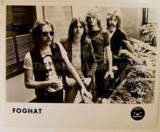 Original 1970's 8x10 Publicity Photo Foghat Rock