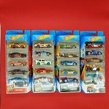 juguete coches hot whells colleccion mattel regalo niños 5 PACK set nuevo caja