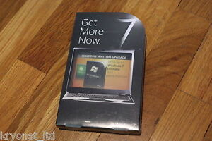 Microsoft Windows 7 Anytime Upgrade FROM Home Premium to ULTIMATE Professional