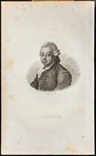 Portrait (1835) - Pierre Poivre - Epices - Agronomie - Gravure