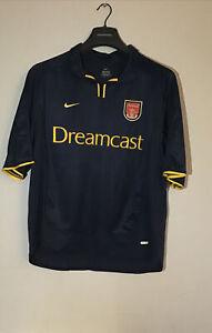 2000/02 ARSENAL Nike Away 3rd Football Shirt Dreamcast Size XXL