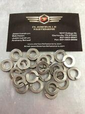 "Stainless Steel Medium Split Lock Washers 3/8"" Qty 25"