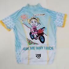 Cycling Jersey Mens M V Gear Kate Le Blanc Cystic Fibrosis Club Cut Art SS 5608897e0