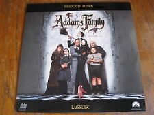 THE ADDAMS FAMILY LASERDISC TESTED VG+ 1992 COMEDY WIDESCREEN LV-32689-WS