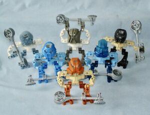 2003 Lego Bionicle MATA NUI MATORAN (8581 ~ 8586) with Kolhii Stick & Ball