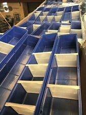 More details for 72 x high quality plastic parts storage boxes bins containers - used