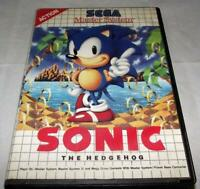 Sonic The Hedgehog Sega Master System *No Manual*