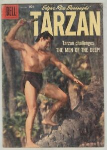 Tarzan #109 November 1958 G/VG Photo cover