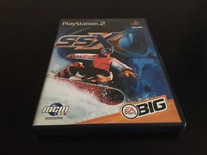 SSX SONY PLAYSTATION 2 PS2 EDITION FR PAL COMPLET