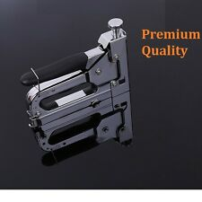New Stainless Steel 3 Way Tacker Staple Gun Stapler Kit with Staples & Nails