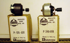 HO TRAIN AHM/RIVAROSSI TWO (2) MOTORS WITH BOXES *NEW OLD STOCK*S