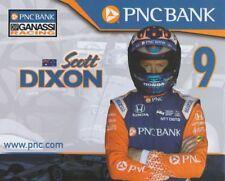 "2018 Scott Dixon PNC Bank ""2nd issued"" Honda Dallara Indy Car postcard"