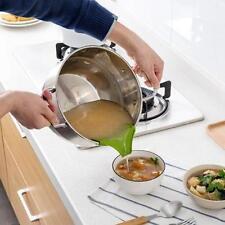 Pour Spout For Bowls Pans Pots Jars Slip-On Silicone Easy Wet Dry Pouring Hot J