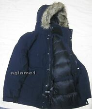 RALPH LAUREN RLX  ski mountain down snorkel JACKET Coat  Parka navy XL Thick