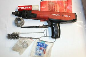 Hilti DX36M Powder-Actuated Fastening Tool With MANUAL