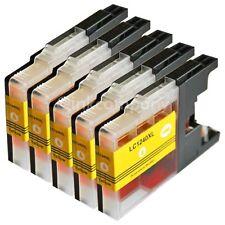 LC1240 XL yellow 5x für MFC-J430W MFC-J5910DW MFC-J625DW DCP-J925DW