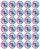 30x Baby Shower Gender Reveal Cupcake Toppers Edible Wafer Fairy Cake Topper
