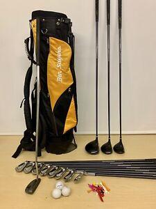 Mens Full Set Donnay Evolution Golf Clubs & Bag / Beginners Right Handed