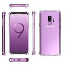 Samsung Galaxy S9/S9 Plus Case Crystal Clear Bumper Rubber Protective Cover