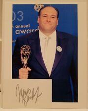 James Gandolfini Signed Autographed 3x5 Index Card