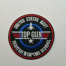 Top Gun Fighter Weapons School Patch 3 inches wide
