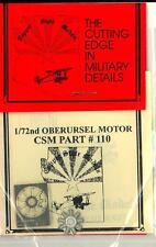 Copper State Models 1/72 OBERURSEL AIRCRAFT MOTOR Metal & Photo Etch Kit