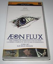 Aeon Flux Animated Collection for Sony PSP UMD Video Brand New! Factory Sealed!
