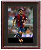 Deco Mounted Framed & Glazed Memorabilia Gift Football Soccer