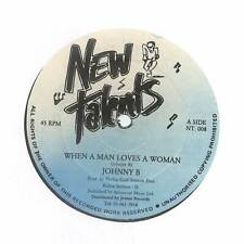 "Johnny B - When A Man Loves A Woman - 12"" Vinyl Record"