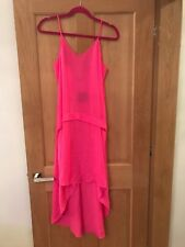 Topshop Pink Size 8 Maxi Dress