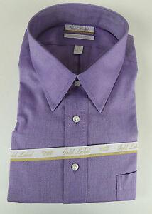 Roundtree & Yorke Gold Label Non Iron EZ Wash Royal Oxford Dress Shirt $75 NWT