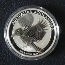 Australia 1$ Kookaburra 1 oz 2018 silver 99.9% (in capsule)