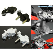 CNC Handlebar Bar Riser Kit 25mm Up & 20mm Backward Fit 2013-2019 BMW S1000R K47