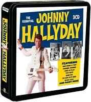 JOHNNY HALLYDAY - ESSENTIAL (LIM.METALBOX EDITION) 3 CD NEU