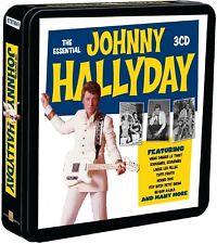 JOHNNY HALLYDAY - ESSENTIAL (LIM.METALBOX EDITION) 3 CD NEU