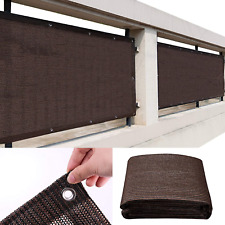 JIATSY Privacy Fence Screen Windscreen Cover 3x8 ft Fabric Shade Screens Coverin