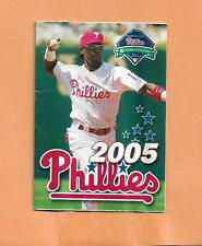 JIMMY ROLLINS  2005 PHILADELPHIA PHILLIES SCHEDULE