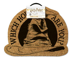 HARRY POTTER (WHICH HOUSE ARE YOU?) SHAPED DOOR MA *OFFICIAL - FAST UK DISPATCH*