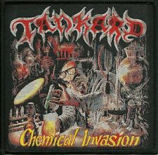 TANKARD-CHEMICAL INVASION- WOVEN PATCH-super rare